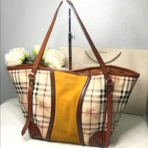 ✅Authentic BURBERRY Haymarket Check Canterbury Bag